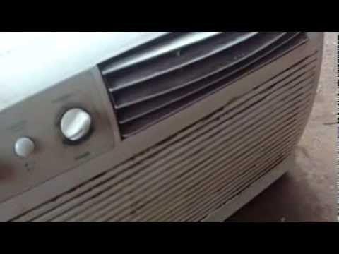 inversor ligando ar condicionado, com bateria.