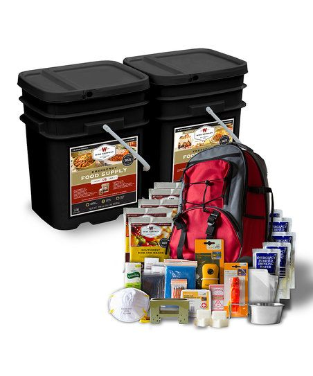 Wise Company 240-Serving Meal Kit & Survival Bag Set | zulily