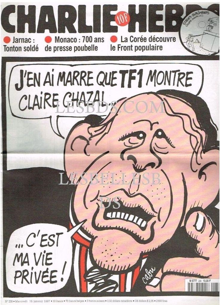 Charlie Hebdo - # 239 - 15 Janvier 1997 - Couverture : Cabu