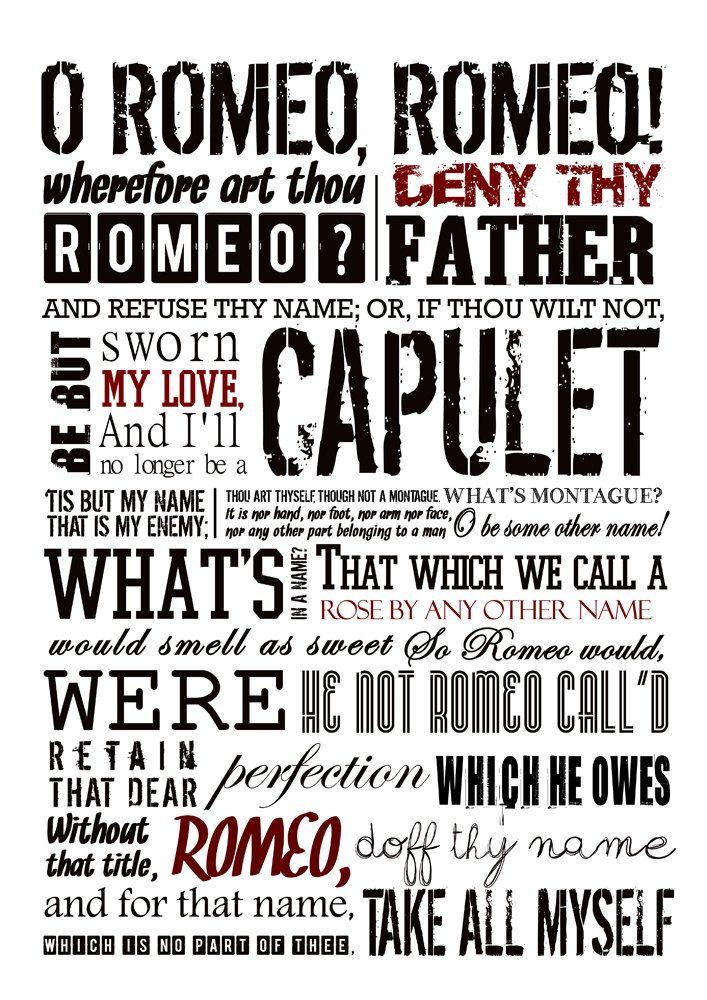 Romeo and Juliet Wall Art