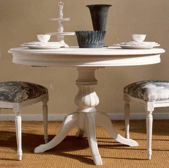 mesa comedor pequea redonda