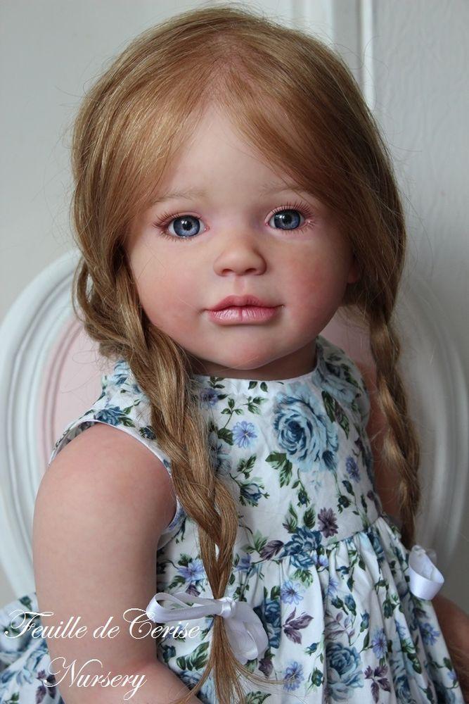 Feuille de Cerise Nursery - reborn toddler doll Sally by Regina swialkowski