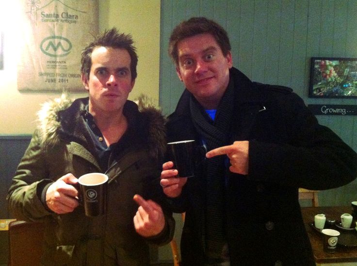 Dick and Dom - TV presenters