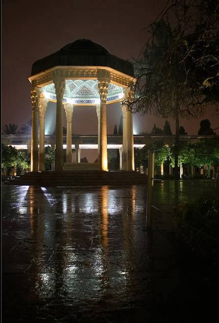 #Hafez tomb in #Shiraz