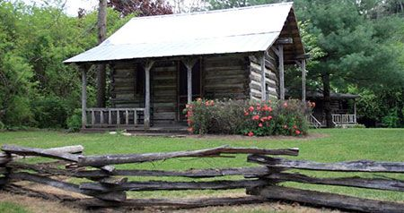 Deer Creek Tube Center and Campground has cute and affordable cabins.
