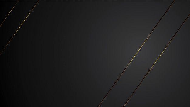 Luxury Black Background Banner Illustration With Gold Strip Art Deco Line Elegant Background Banner Geometric Background Black Backgrounds