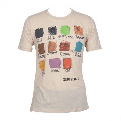 "Grouplove ""Colours"" tee"