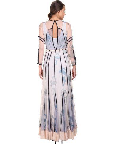 Ilan Maya Evening Dress Multi