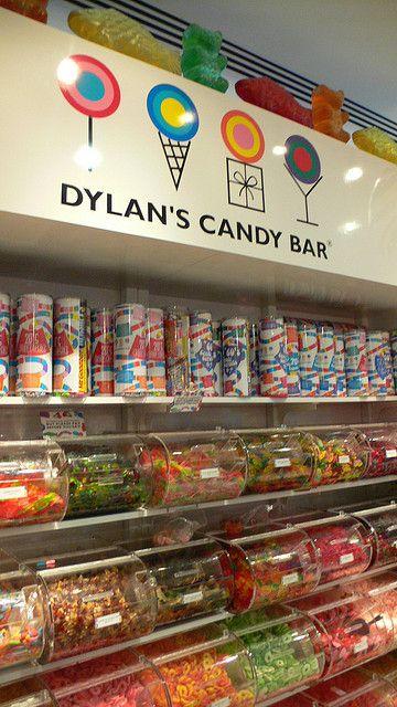 Dylan's Candy Bar - NYC.   Dylan Lauren is the daughter of designer Ralph Lauren.