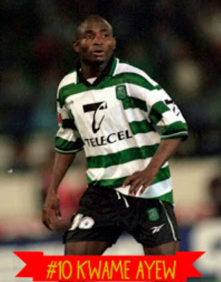 Kwame Ayew of Sporting Lisbon & Ghana in 1999.