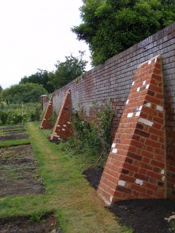 Buttress To Support Wall Week 7 Pinterest Brickwork