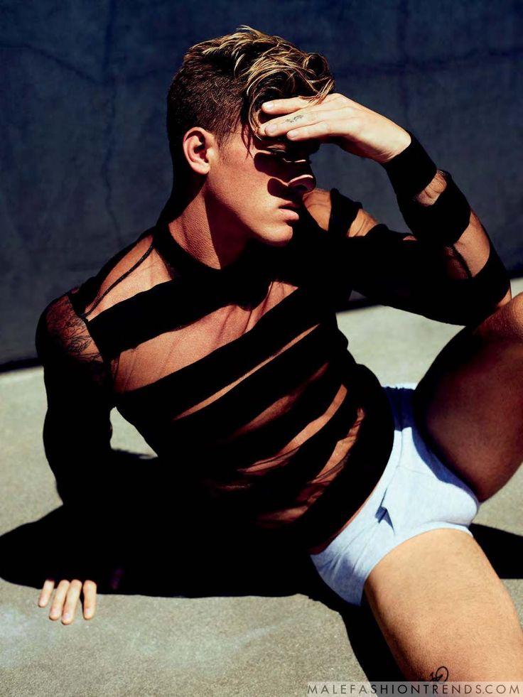 Erick Laframboise y Austin Victoria para Attitude Magazine por Leigh Keily
