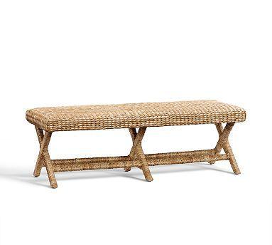 Seagrass Bench #potterybarn Nice Design