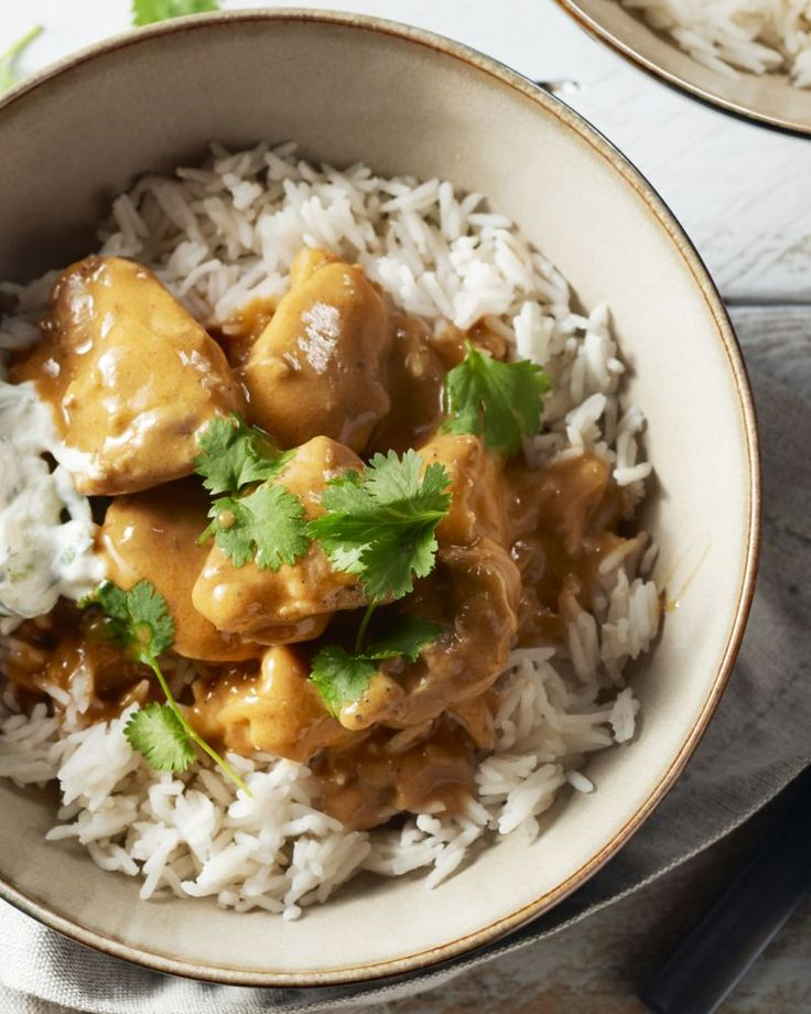 Een Indische immigrant in Engeland vond deze curry uit, meer afgestemd op 'ons' smakenpalet, Resultaat is een perfect bordje 'east meets west'. Overheerlijk!