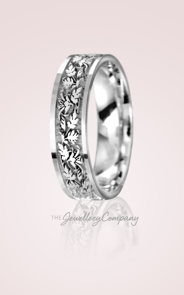 The Jewellerypany's Celtic Leaves Wedding Band Is Perfect For Those Who  Are Looking For A