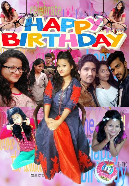 MMT Virus Mohit Soni Ankita Birthday Card Design On Photoshop Crea