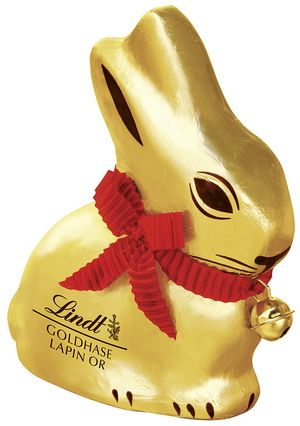 Lindt chocolate bunny since 1951