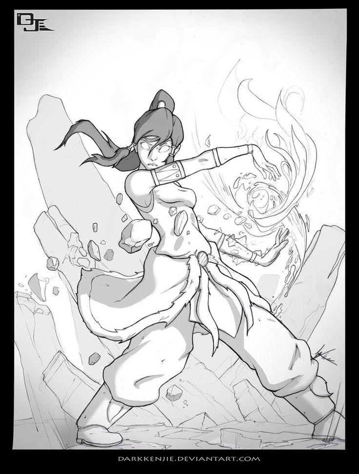 Avatar Korra Sketches, Art, Artist