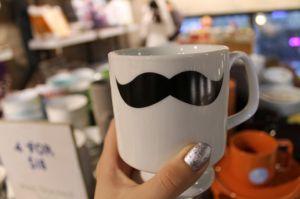 mustcahe mug  (coffee) (coffee cups) (coffee art) (stein) (beer stein) (wine glass) #coffee #coffeecups #coffee