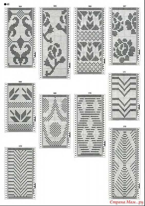Knitting Stitch In Crossword : 64 best images about Mosaic Knitting Charts on Pinterest Filet crochet, Pat...