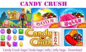 Candy Crush Saga   Soda Saga   Jelly   Jelly Saga - Download