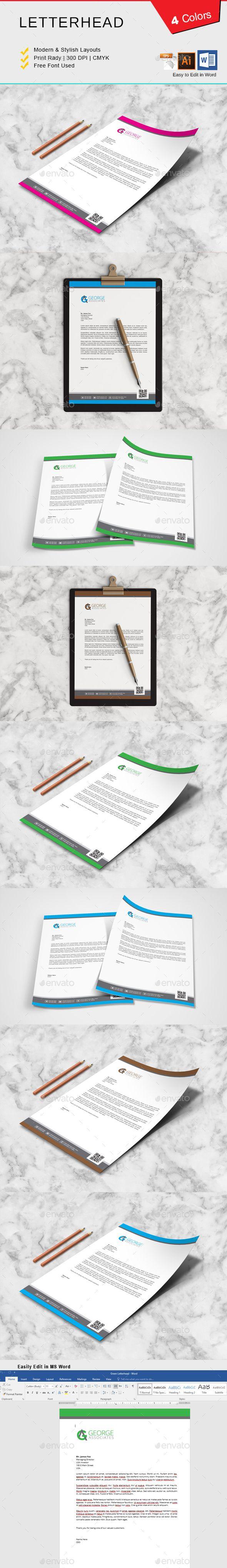 #Letterhead - Print Templates Download here: https://graphicriver.net/item/letterhead/20291580?ref=alena994