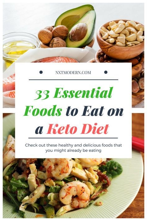 33 Essential Foods to Eat on a Keto Diet #keto #ketogenicdiet #ketodiet #ketosis #food