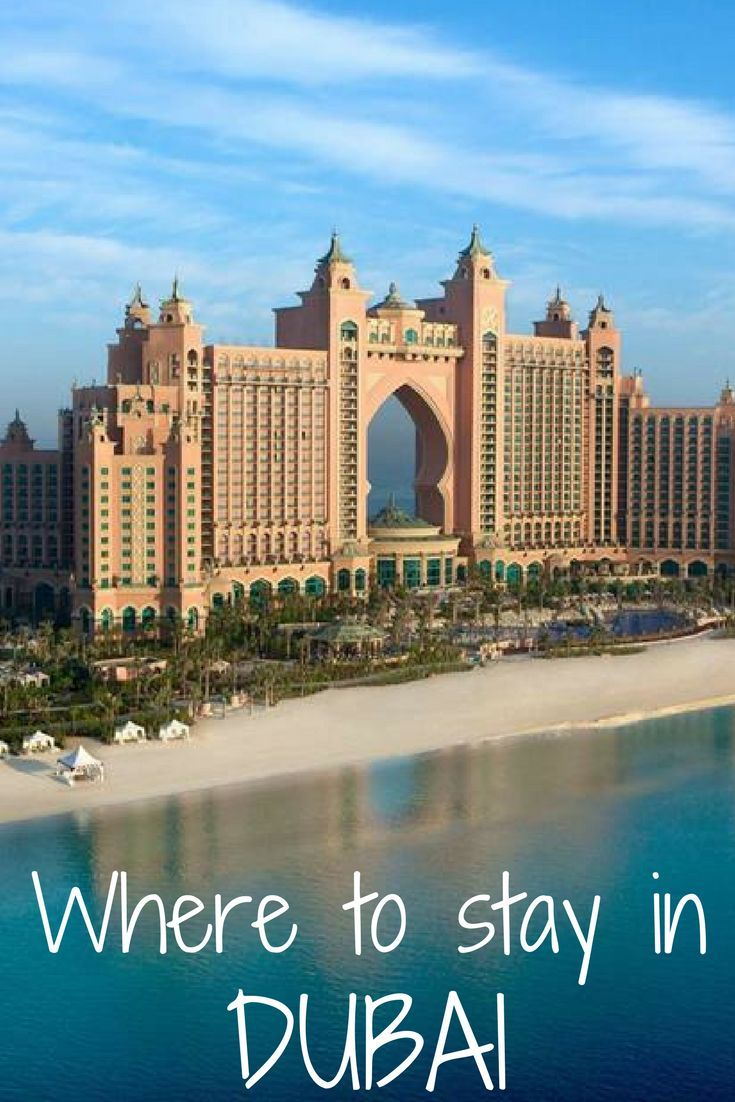 Find out the most popular hotels as well as the most popular areas to stay in Dubai in this post.