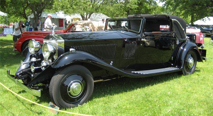 1933 Rolls-Royce Phantom II Continental Sedanca Coupé coachwork by Gurney Nutting
