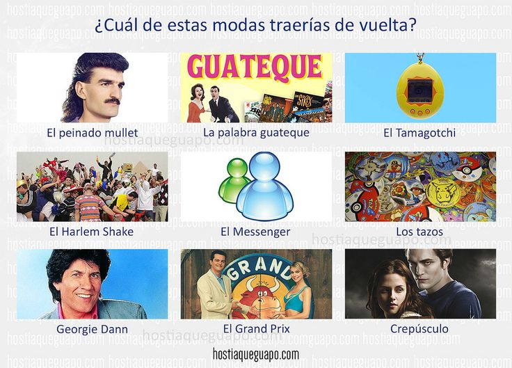 https://flic.kr/p/FWACfd | ¿Qué moda traerías de vuelta? | Juegos para compartir en las redes. Hostiaqueguapo.com