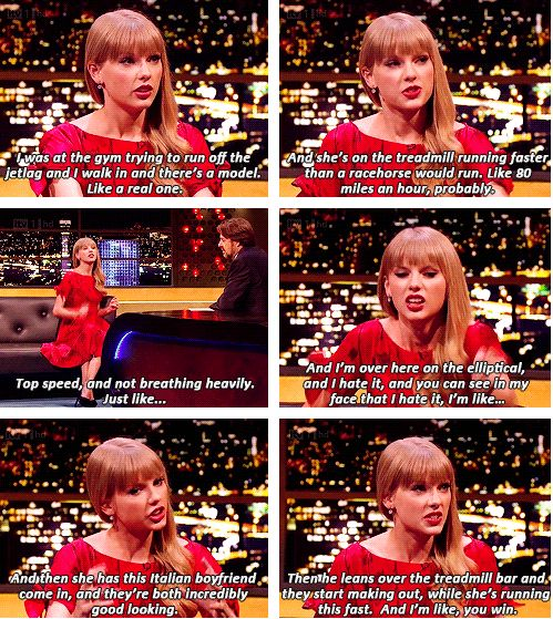 """It takes a whole lot less for me to say """"You win."""" i love her."""