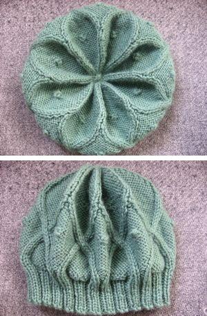 knit beanie  Free pattern…