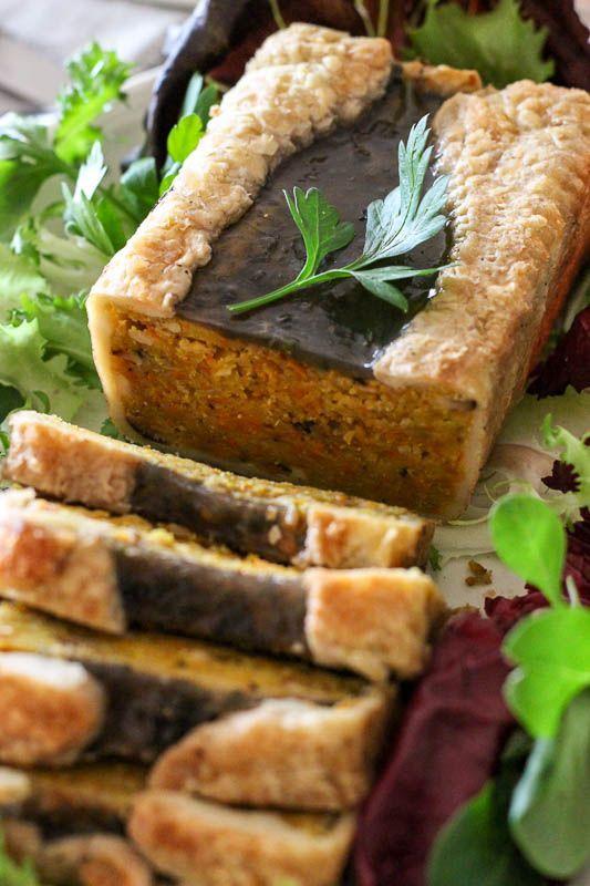 Lemon pie and tie&dye: {Mon repas de Noël vegan} Entrée : pâté de potimarron en croûte // {My Christmas vegan menu} Crusted red kuri pâté