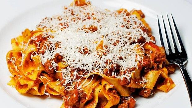 A traditional bolognese.