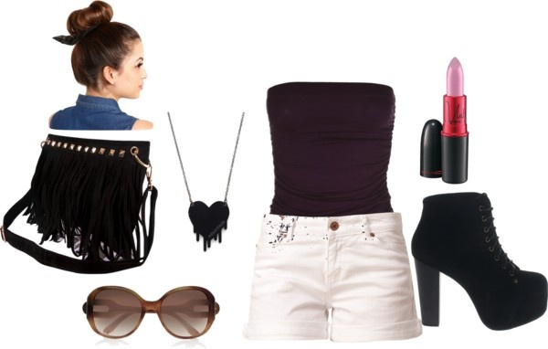 """summer style"" by nicole-beal on Polyvore"