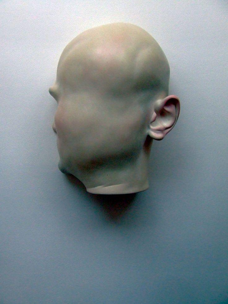 Bogdan Rata, Self, polyester, synthetic resin, fibre, paint, 2010, 25x21x11 cm | Nasui Gallery