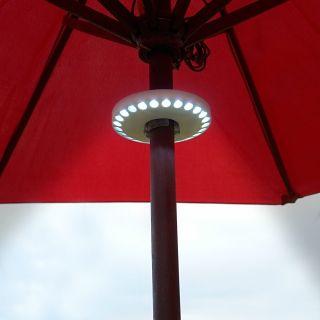 $24.95 LED Patio Umbrella Lights from HomeWetBar.com