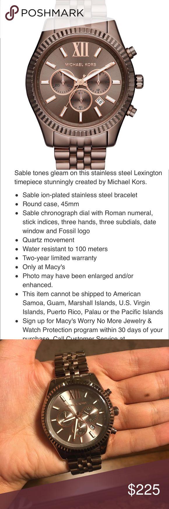 Mk men's watch Beautiful unique colorall season Michael Kors Accessories Watches
