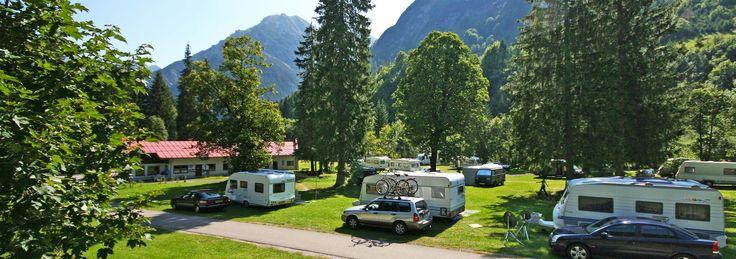 Camping Vorderboden - Unser Campingplatz im Kleinwalsertal