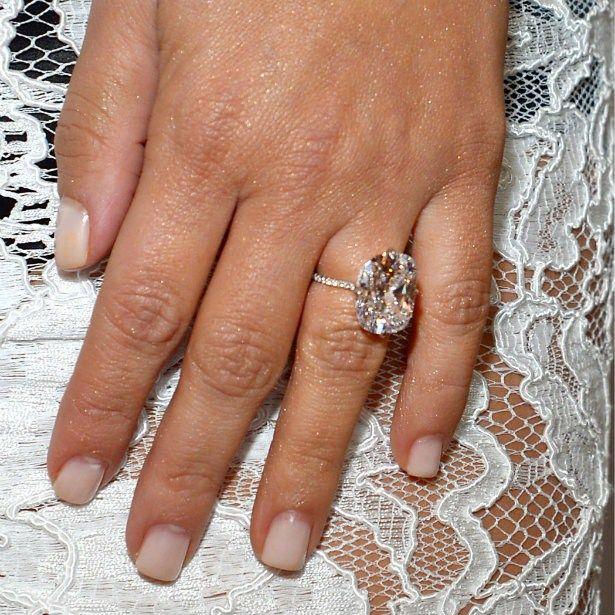 Love The Diamond Shape And Thin Band Kim Kardashian Ringkim Engagement Ringwedding