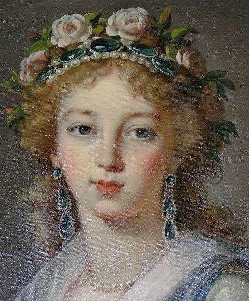 Elitabeth Alexeievna, 1796 by Louise Elizabeth Vigee Lebrun