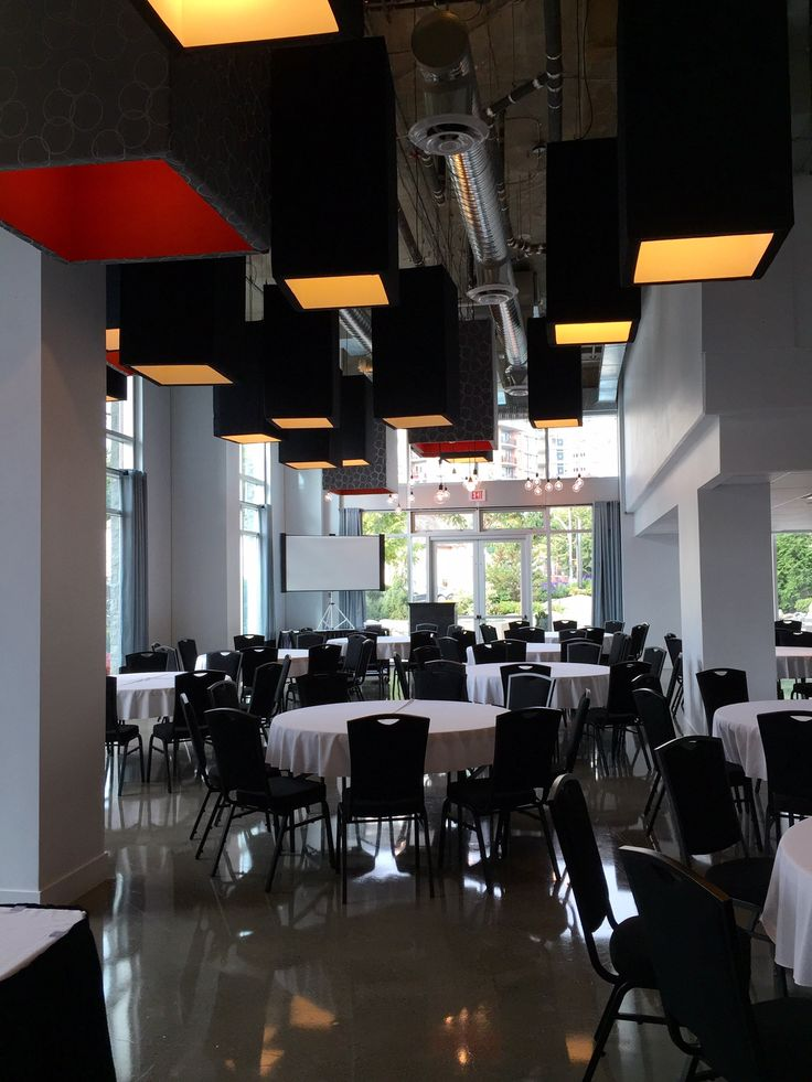 Urban Ballroom - perfect for larger meetings, conventions, & conferences.