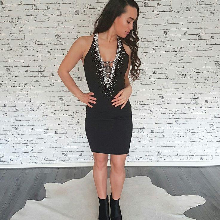 Diamond dress - party dress - diamonds & pearls