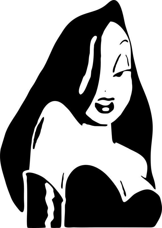 Jessica Rabbit Wall Art by LynchmobGraphics on Etsy