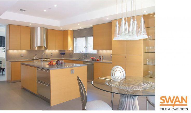 Slab Kitchen Cabinet Doors Kitchen Contemporary