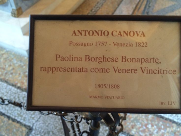 Antonio Canova _Roma 2015