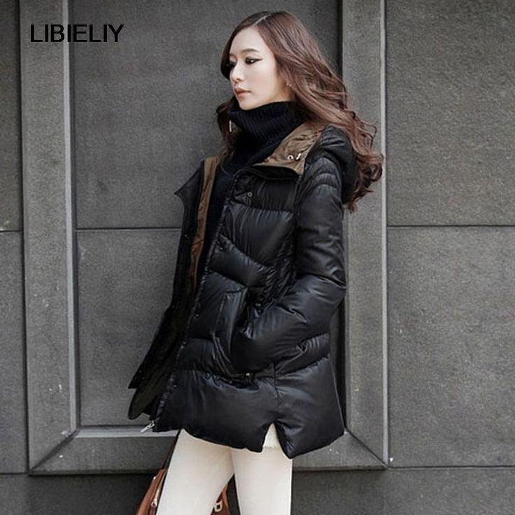 New Pop Nice Winter Jacket Women Thickening Winter Outerwear Plus Size Down Coat Long Loose Design Cotton-padded Jacket CP1181
