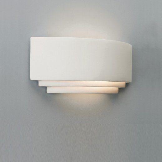 Astro Lighting 0423 Amalfi Art Deco Plaster Ceramic Wall Light - Astro Lighting from The Home Lighting Centre UK