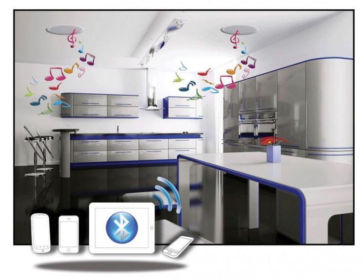 Aquasound Bluetooth Music Center 35 met Bolero Speakerset