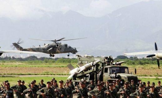 El Comando de Aviación del Ejército de Venezuela recibió diez helicópteros de ataque Mi-35M2, de fabricación rusa, que fueron recientemente repotenciados. La recepción formal de los aparatos se realizó en el marco del acto conmemorativo del 12º aniversario del Comando Estratégico Operacional de la Fuerza Armada Nacional (Ceofanb) que se realizó, el pasado 26 Leer más...